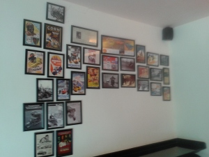 Left wall of Flamenco