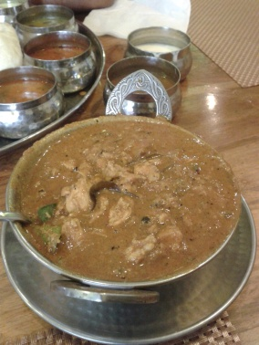 Adupadi chicken gravy. As effective as brandy for cold)